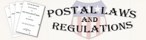Postal Laws and Regulations Icon