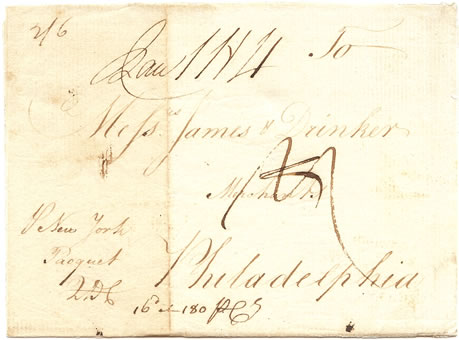 Bristol to Philadelphia 1775