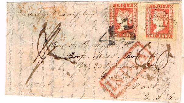 Burma to Boston 1855